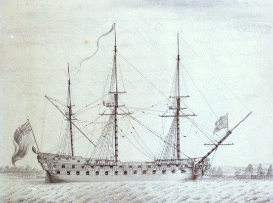 Invincible - 1747, now in the Royal Navy