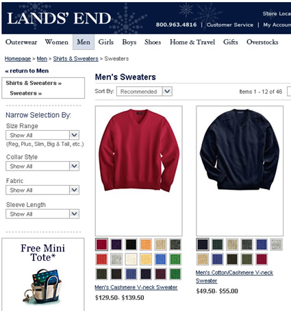 9df071612 Lands' End which was acquired by Sears in 2002, enlarging his shop at Sears  in 2007. Lands' End adds in-store monogramming and more small stores that  ...