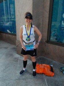 Team CMT leader finishes second at Boston Marathon