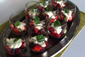 Berries with Limoncello