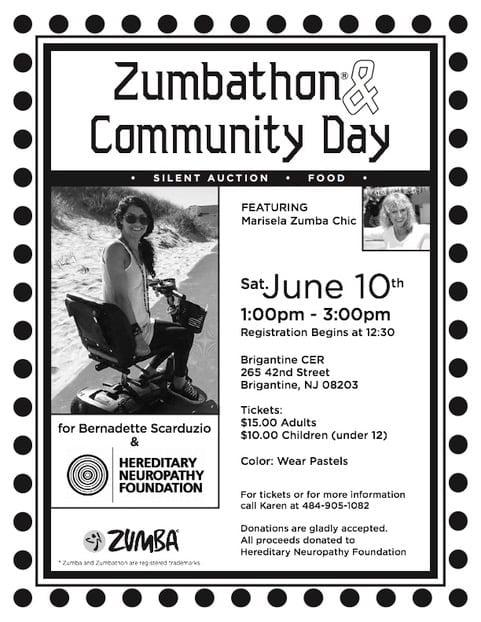 Zumbathon Brigantine, New Jersey: June 10, 2017