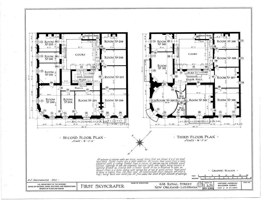 The Collins C. Diboll Vieux Carré Survey: Property Info