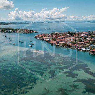 Bocas del Toro Town Drone