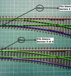wiring a model railroad part 2 the turnouts technical aspects of model train track wiring a switch [ 1200 x 900 Pixel ]