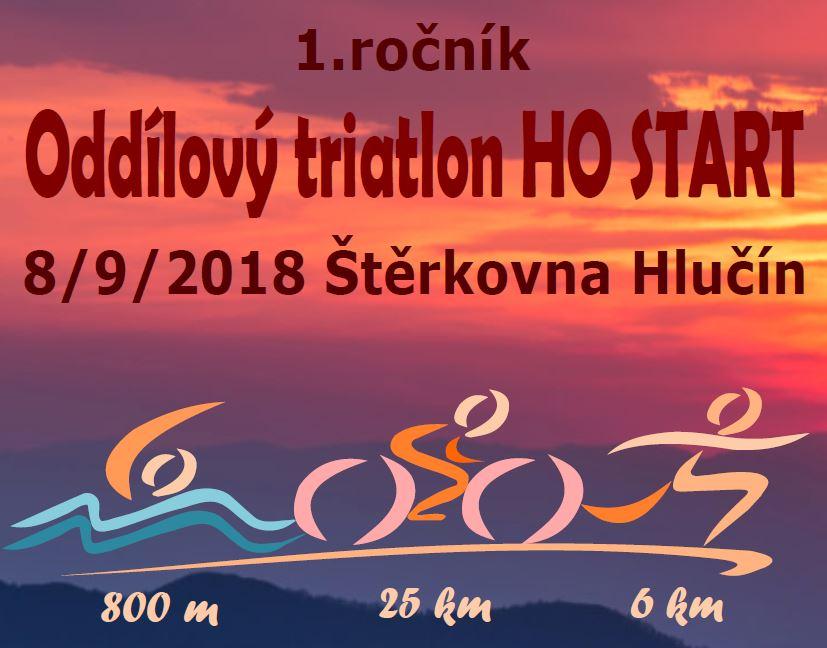 Starťácký TRIATLON 9/2018 - Výsledky 1. ročníku