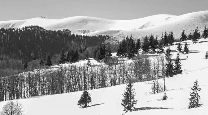 Velká Fatra – skialpová Revúca – únor 2019