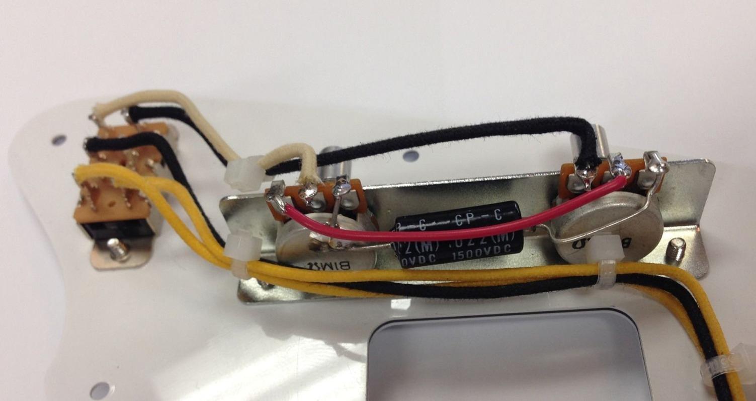hight resolution of standard jazzmaster wiring harness
