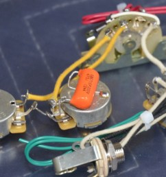 stratocaster wiring harness hh 2 volumes 1 tone [ 1200 x 800 Pixel ]