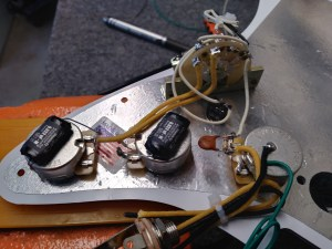 """David Gilmour"" model Stratocaster Wiring Harness"