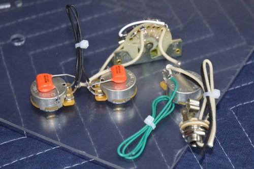 small resolution of  lone star model stratocaster wiring harness