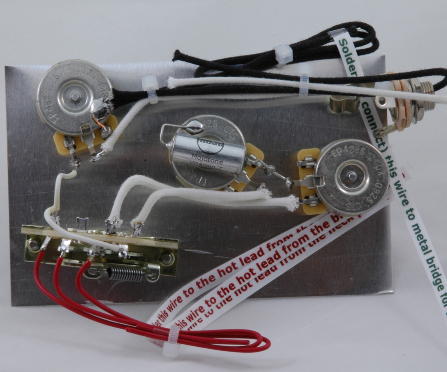 hight resolution of  stevie ray vaughan model stratocaster wiring harness
