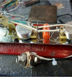 for 2 humbuckers 1 single coil tele wiring harness w 5 way for 2 humbuckers [ 1600 x 903 Pixel ]
