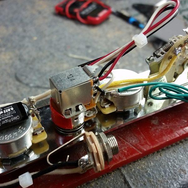 "Brent Mason"" Power Tele Wiring Harness W 4 Way Switching"