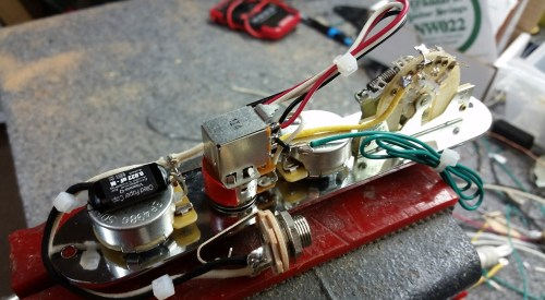 small resolution of  brent mason power tele wiring harness
