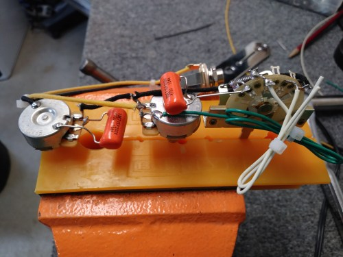 small resolution of 1953 style tele custom built wiring harness u2013 hoagland custom1953 style tele custom built wiring
