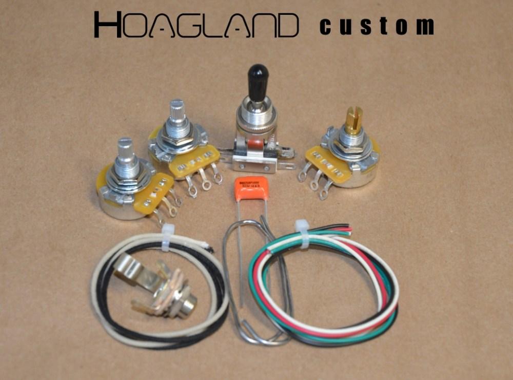 medium resolution of flying v u201d style wiring harness kit u2013 short shaft pots u2013 hoagland