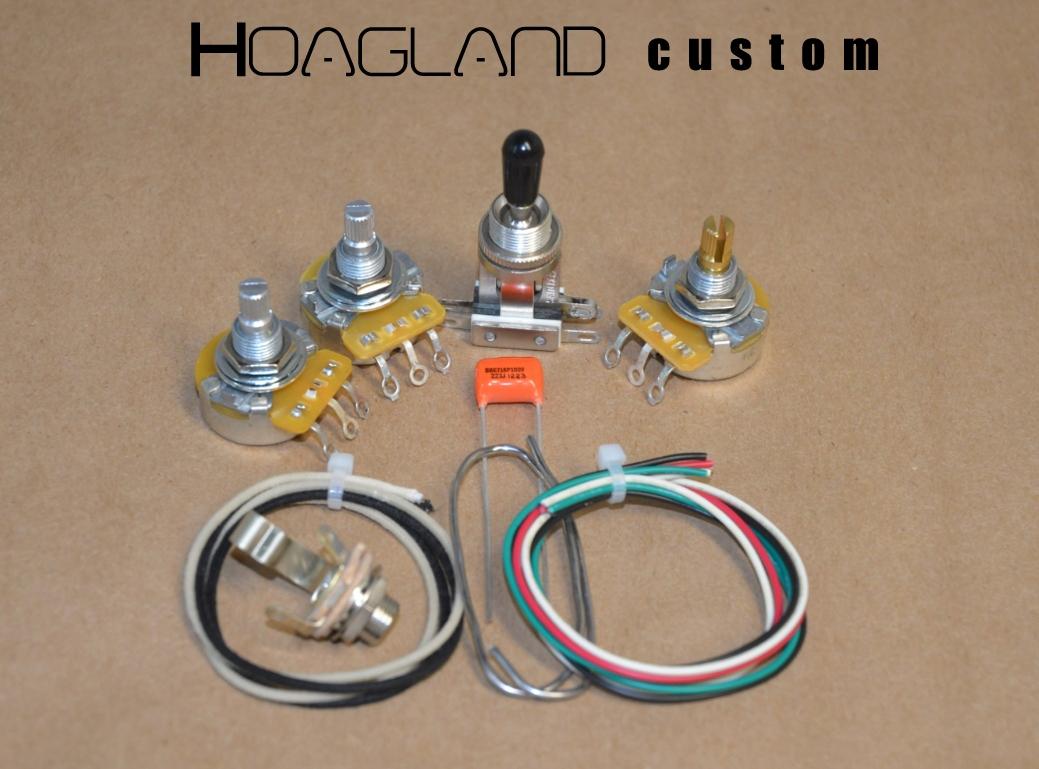 hight resolution of flying v u201d style wiring harness kit u2013 short shaft pots u2013 hoagland