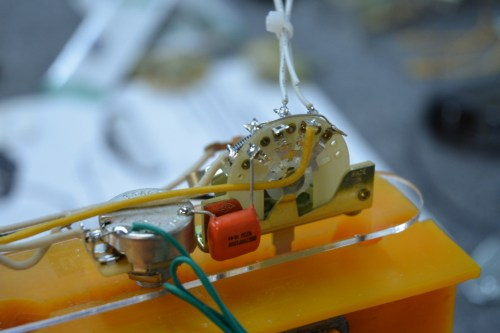 small resolution of broadcaster with blend tele style wiring harness hoagland custom