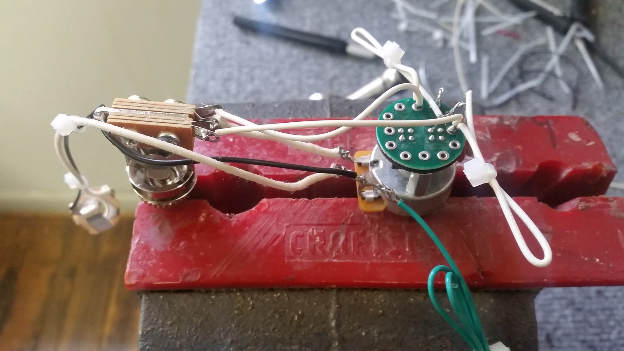 hight resolution of lacabronita especial tele wiring harness s 1 switch for 2 pickups