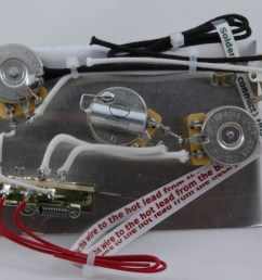 highway one style stratocaster wiring harness for 3 single coil pickups  [ 1200 x 800 Pixel ]