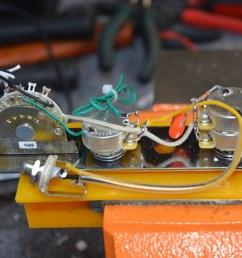 telecaster wiring harness w tbx tone control 4 way series parallel details about tele pots switch input jack wire wiring kit diagram for [ 1600 x 1200 Pixel ]