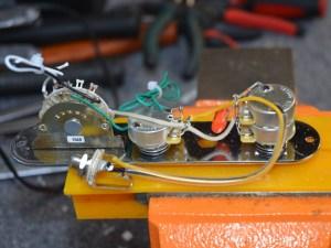 Standard Tele Wiring Harness wTBX Tone Control – 3Way