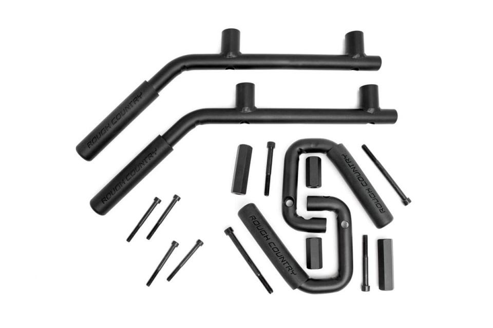 2007-2018 Jeep Wrangler JK Solid Steel Grab Handles