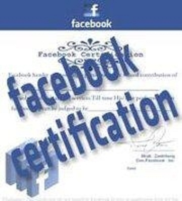 Picture about Get Certified - Facebook Certification Application
