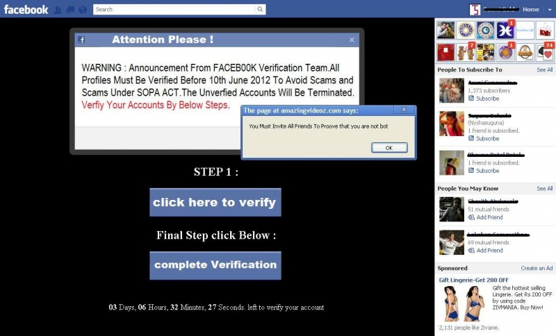 Announcement from Facebook Verification Team - Verify Your Profile
