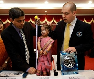 Picture: World's Shortest Woman