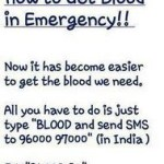 Picture: How to Get Blood in Emergency