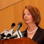 Picture about Australian PM Julia Gillard asks Muslims to get out of Australia