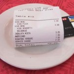 Picture: Service Charges Billing in Restaurants Misleading