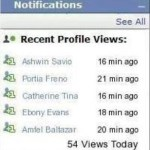 Picture about Facebook Profile Viewers App Scam