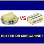 Picture about Butter or Margarine, which one is Healthier