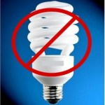 Picture about CFL Bulbs contain Mercury vapour, a Powerful Neurotoxin