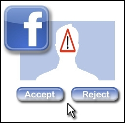Picture about Do Not Accept a Friend Request - Facebook Hacker Hoax