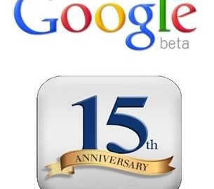 Picture about Google 15 Years Anniversary Awards Email Scam