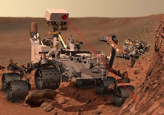 Picture about NASA Finds Message from God on Mars
