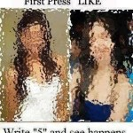 Picture about Press Like, Comment and or Share to See the Magic