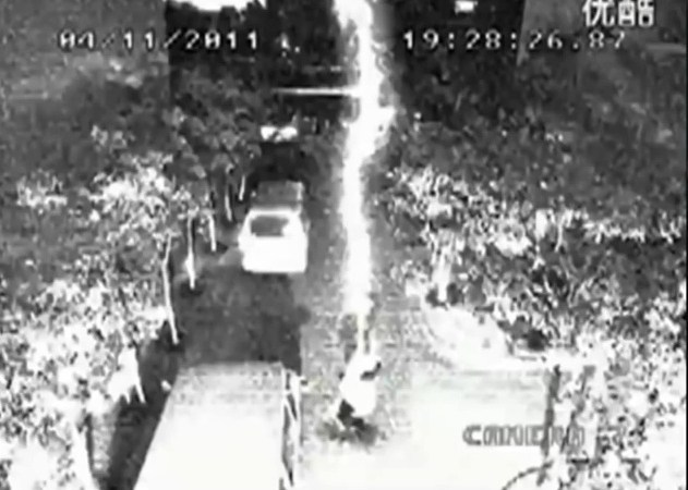Man Survives Being Hit by Lightning Twice in Remarkable CCTV Footage – Facts