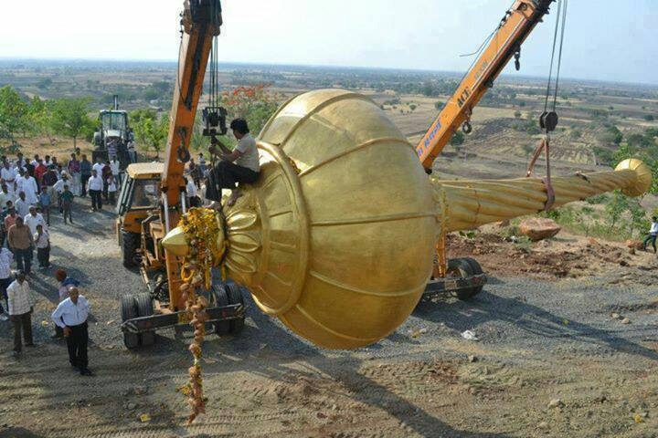 Picture about Hanumanji Gadha Found in Sri Lanka During Excavation
