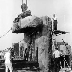 Photos Showing Stonehenge Construction in 1954