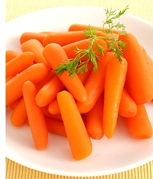 Picture about Baby Carrots are Processed in Chlorine, can cause Cancer