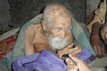 Picture about Death Forgets to Kill a 179 Year Old Indian