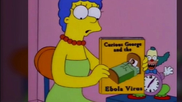 Picture about The Simpsons Episode Predicted Ebola Outbreak Back in 1997