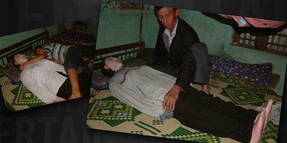 Picture of Man Slept Next to Dead Wife for 5 Years