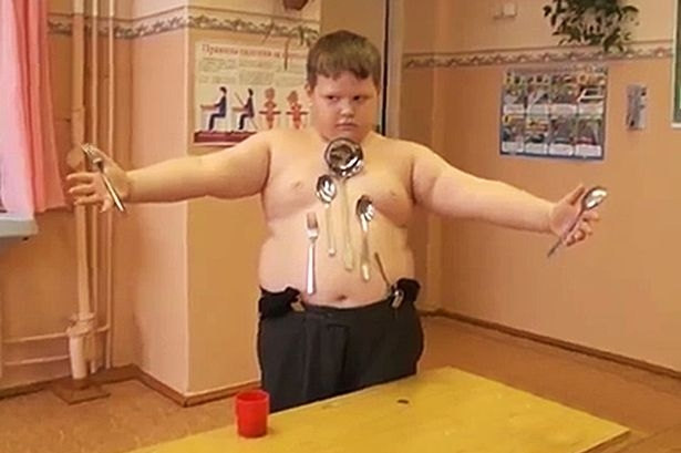 Picture about Russian Boy Acquires Magnetic Powers after Electrocution