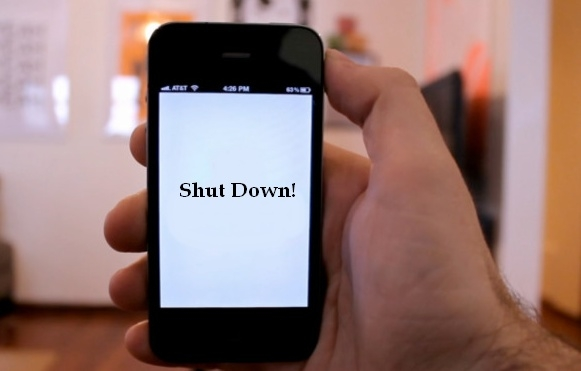 Picture about Shutdown Cell Phone Virtual Kidnapping Scam