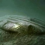 Picture about UFO Shaped Object Baltic Sea Anomaly